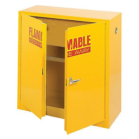 Sandusky Flammable Safety Steel Cabinet - Yellow