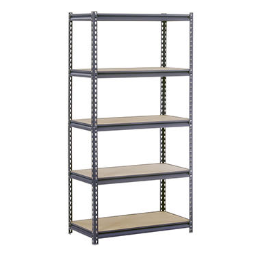 Edsal Heavy Duty 16-gauge 5-Level Boltless Steel Shelving (36