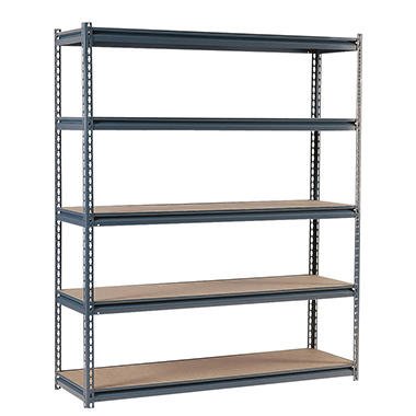 Edsal Heavy Duty Gray 16-gauge Boltless Steel Shelving