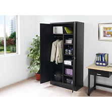 Sandusky Combination Storage Cabinet, Black