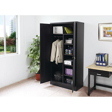 Sandusky Combination Storage Cabinet Black