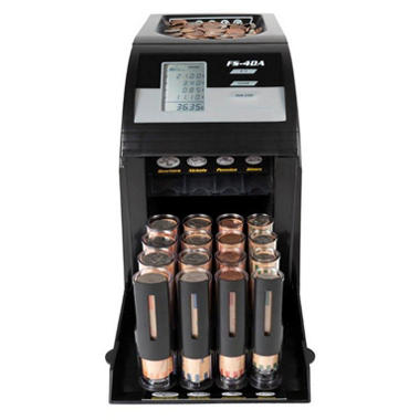 Royal Sovereign Digital 4-Row Electric Coin Sorter