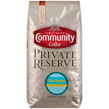 Community Coffee Private Reserve Whole Bean Colombia (32 oz.)