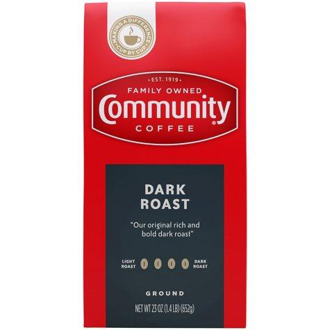 Community Coffee Dark Roast (23 oz.)