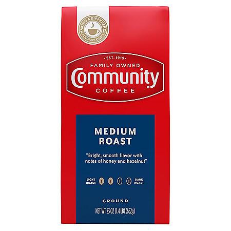 Community Coffee Medium Roast (23 oz.)