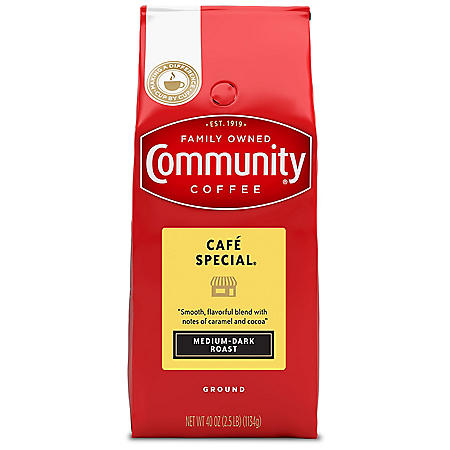 Community Coffee Ground Café Special (40 oz.)