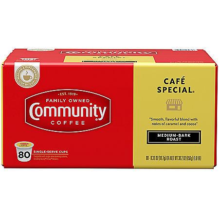 Community Coffee Single Serve Cups, Café Special (80 ct.)