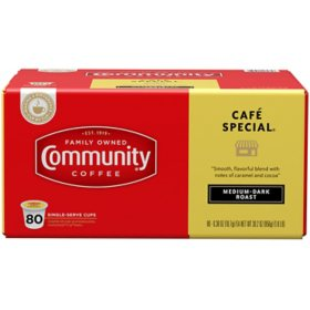 Community Coffee Single Serve Pods, Café Special