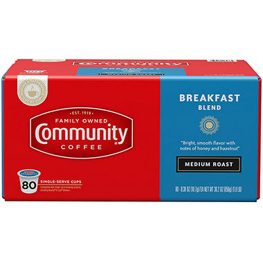 community coffee breakfast blend 80 kcups - K Cups Bulk