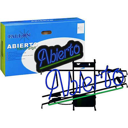 Fallon® Neon Sign - Abierto