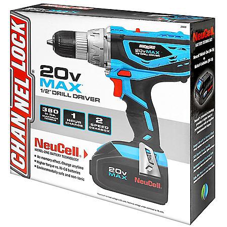 Channellock 20V Max Drill Driver