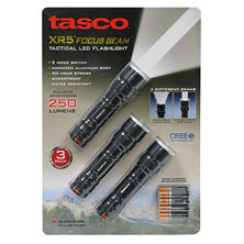 Tasco XR5 Focus Beam Flashlight (3-pk.)