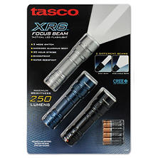 Tasco XR7 Focus Beam Flashlight (3-pk.)