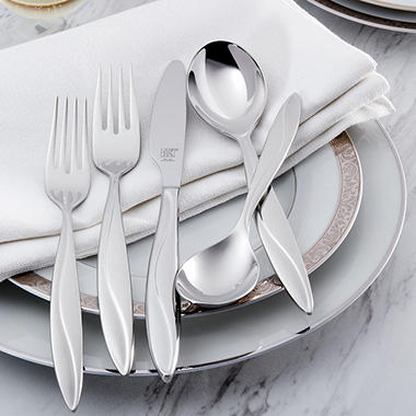 Zwilling JA Henckels Enchant 42-Piece Flatware Set