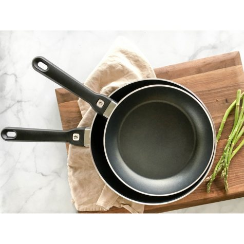 """Henckels International Tuscany 2-Piece Nonstick Fry Pan Set - 8"""" and 10"""" (Choose Your Color)"""