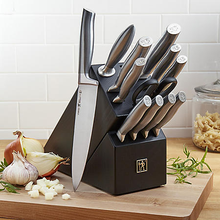 J.A. Henckels International Graphite 13-Piece Knife Block Set