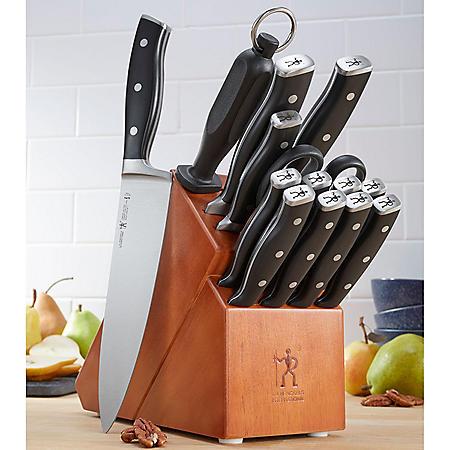 JA Henckels International 15-Piece Forged Accent Knife Block Set