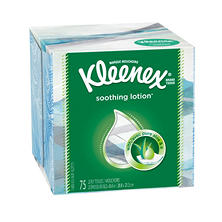 Kleenex Lotion 2-Ply Facial Tissue (75 sheets/box, 27 boxes/carton)