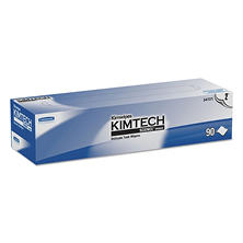 Kimtech Kimwipes, Tissue, 14 7/10 x 16 3/5, 90 Sheets/Box -  15 Boxes/Carton