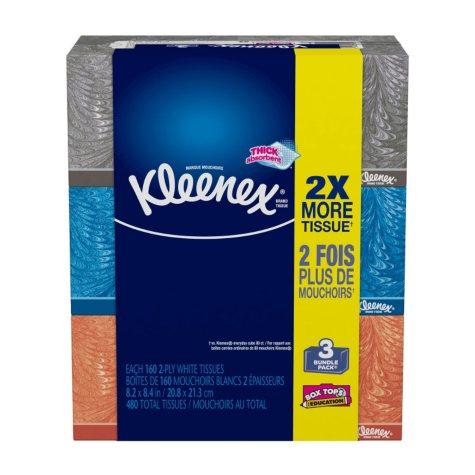 Kleenex Everyday Tissues, Medium Count (3 pk.)