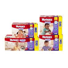 HUGGIES Little Movers Diapers, Size 5 (124 ct.)