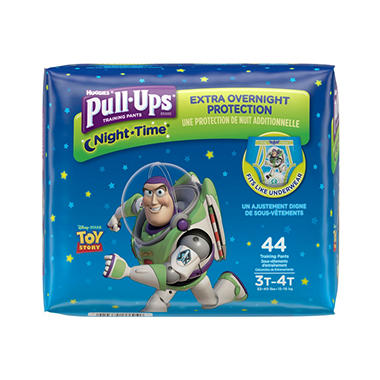 Huggies Pull-Ups Night Time Training Pants for Boys (Choose Your Size)