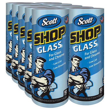 Scott Glass & Chrome Towels (10 pk.)