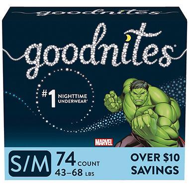 71b22f876b GoodNites Bedtime Underwear for Boys (Choose Your Size) - Sam s Club