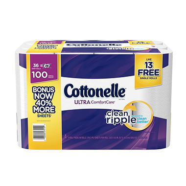 Cottonelle Ultra Comfort Care Giant Roll (36 pk.)