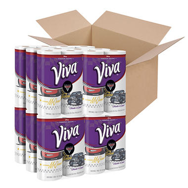 Viva Mainline Paper Towels with Cars 3 Designs (24 rolls)