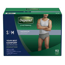 Depend Fit-Flex Underwear for Men (Choose Your Size)