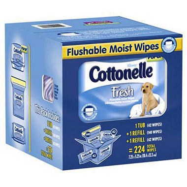 Cottonelle Fresh® Wipes