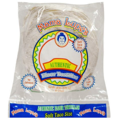 Mama Lupe's Soft Taco Flour Tortillas (36 oz., 24 ct.)
