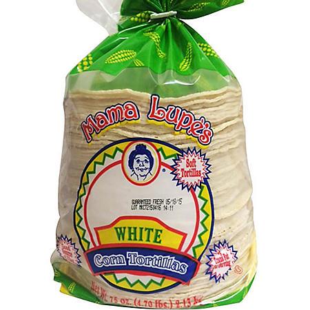 Mama Lupe's White Corn Tortillas (80 ct.)