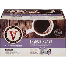 Victor Allen's French Roast (100 single-serve cups)