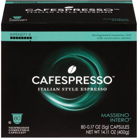 Cafespresso Massieno Intero Nespresso Compatible Capsules (0.17 oz. ea., 80 ct.)