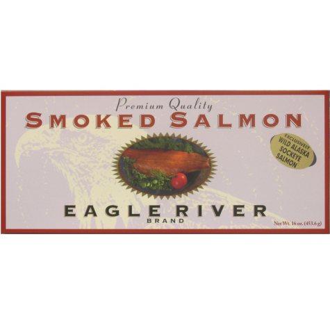 Smoked Sockeye Salmon (16 oz.)