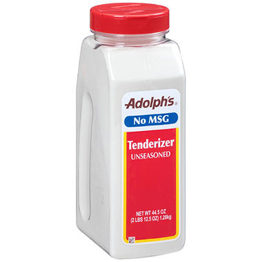 Adolph's Unseasoned Tenderizer (44.5 oz.)