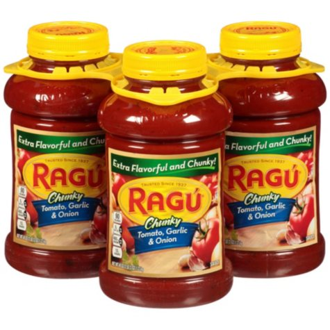 Ragu Garden Combination Pasta Sauce (45 oz., 3 pk.)