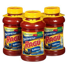 Ragú® Traditional Spaghetti Sauce - 3/45 oz.