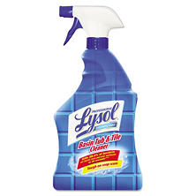 Professional Lysol Brand Basin/Tub/Tile Cleaner (32 oz. spray bottles, 12 pk.)