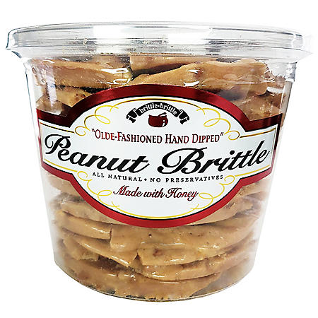 Brittle-Brittle Peanut Brittle (38 oz.)