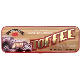 Olde-World Roasted Almond Toffee (20 oz.)