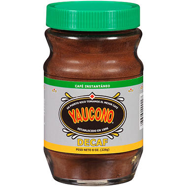 Yaucono Decaf Instant Coffee - 8 oz.