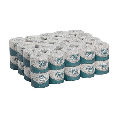 angel soft ps - premium bathroom tissue - 40 rolls - sam's club