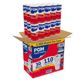 POM Paper Towels (30 pk.)