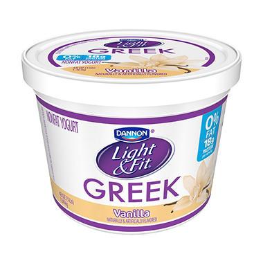 Dannon Light U0026 Fit Greek Blended Nonfat Vanilla Yogurt (48 ...
