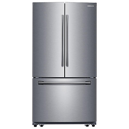 SAMSUNG 25.5 Cu.Ft. 3-Door French Door Refrigerator with Single Ice Maker - RF260BEAESR