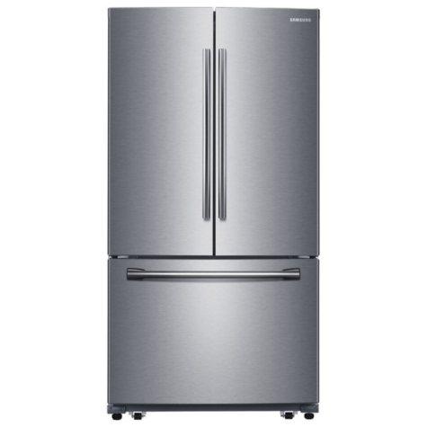 SAMSUNG 25.5 Cu.Ft. 3-Door French Door Refrigerator with Single Ice Maker - RF260BEAESR
