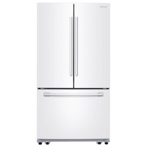 SAMSUNG 25.5 . 3-Door French Door Refrigerator with Single Ice Maker - RF260BEAE